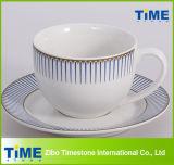 Royal Design Tea Cup and Saucer