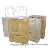 Twist Handle Paper Bag with Logo Print