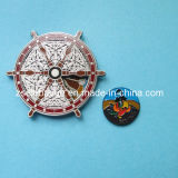 Snow-Shaped Metal Coin for Promotion or Souvenir (Ele-C001)