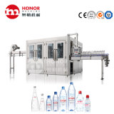Automatic 0.2L/0.5L/1L/1.5L Small Size Pet Glass Bottle Liquid Water Soft Drink Juice Mineral Water Beverage Filling Capping Blow Labeling Bottling Line/Machine