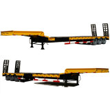 High Quality Flatbed Trailer Gooseneck Low Bed Trailer