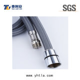 Grey Nylon Wire Braided Flexible Hose for Toilet Connection (L1004-B)