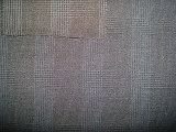 Wool Polyeter Suit Multi-Line Check Fabric