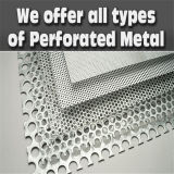 ASTM AISI GB Stainless Steel Perforated Metal