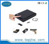Biometric Fingerprint Safe Box, Gun Cabinet Case with Key for Hidding Handgun Pistol Jewelry Privacy Valuables Cash Security Box