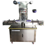 Cosmetic Jar Packing Machine Fully Automatic Rotary Type Facial Mask Face Cream Cosmetic Plastic/Glass Jar Sealing Machine