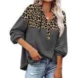Wholesale OEM Hoodie Customised Women Long Sleeve Printed Pullover Sweat Shirt