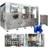Automatic Small Scale Pet Bottle Tin Mineral Water Juice Sauce Beer Making Filling Bottling Capping Packing 3in1 Machine Price