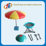 Funny Plastic Pretend Mini BBQ Kitchen Cook Play Toy Set