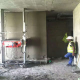 Constructin Equipment Wall Plastering and Rendering Machine with Plastering Speed 400 -550 Square Meters Per Day