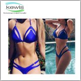 2017 New Ladies Blue Western Style Swimsuit Women