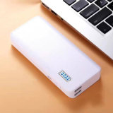 Favorable Price Selling 18650 Fuctional Power Bank with Leather