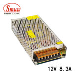 Smun S-100-12 100W 12VDC 8.3A Switching Mode Power Supply