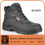Buffalo Leather Lightweight Mining Safety Boots for Heavy Industrial Work Sc-6578