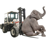 China 3 Ton 6m Cheap Diesel Articulated Rough Terrain Forklift Price for Sale