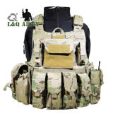 Tactical Plate Carrier Armor Vest with Pouches
