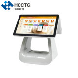 4G Windows Kiosk I3 POS Terminal Double or Single Touch Screen Option Support OEM