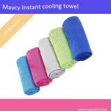 China Made Chemical Free Quick Dry Cheap Summer Instant Cooling Feel Ice Cold Chilly Face Hand Towel