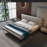 Hot Selling Modern Home Genuine Leather King Size Wall Bed Made in China