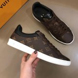 1: 1 High Quality Luis Vuiton IV Men Shoes Luxembourg Luxury Brand Designer Shoes Monogram Sneakers Size 40-45 with Original Logo Boxes