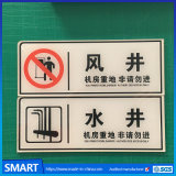 Wholesale Custom Made Factory Price Acrylic Warning Sign Board