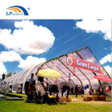 30X50m Huge Aluminum Curved Style Clear Festival Tent for Sports