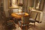 French Furniture Royal Wood Dining Table and Chair Set