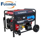 7000 Watts Portable Power Gasoline Generator with Saso, Ce, Soncap Certificate