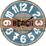 Vintage Beach House Stylish MDF Wall Clock for Interior Decor