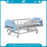 Hot Sale 2-Crank Adjustable Cheap Medical Manual Beds (AG-BYS125)