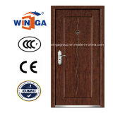Ce for Europ Mdfveneer Steel Wood Security Armored Door (W-A5)