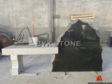 Granite Irregular Shape Bench Monument / Memorial Bench Tombstone