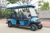 48V 6 Seats Electric Golf Cart Sightseeing Car