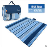 2018 Hot Selling Polyester Fleece Picnic Blanket with Handle