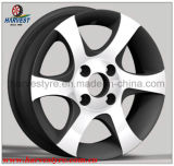 Machine Face Silver Car Wheels with Full Range Sizes