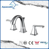 Sanitary Ware Three Hole Bathroom Sink Faucet (AF8251-6)