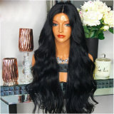 Dlme Natural Black Body Wavy Fashion Synthetic Hair