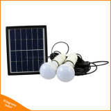 Portable Solar Power Lighting System with 2 LED Bulbs for Home Camping Tent