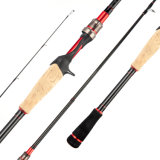Sea water 2 section pesca high carbon fishing rod pole OEM carbon fishing rod casting pole