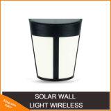 6 LED Solar Wall Light New Design Outdoor IP65 Waterproof Fashion Shape Lamp for Garden Yard Fence Energy Saving Lights