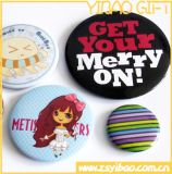 Button Badge/Tin Button Badge with Printed Logo for Promotion Gift (YB-SM-02)