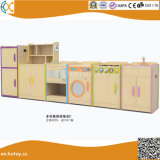 Kids Educational Role Play Toys Wooden Kitchen Play Set