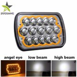 Hot Selling 4X6 Waterproof 12V 24V LED Headlight for Jeep
