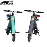 2018 New Design High Quality Portable Folding Electric Bicycle