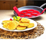 Silicone Nonstick Egg Pancake Ring Kitchen Cooking Mold Cook Cake Mould Shaper Fry Tool