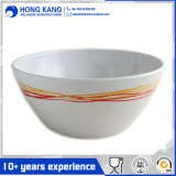 Custom Design Unicolor Melamine Plastic Sala Bowl