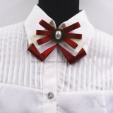 2018 New Hot Brooches Zinc Alloy Bowknot Brooch Bow Tie Corsage Collar (BR-02)