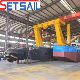 Full New Automatic Customized Water Flow 3500 /4000/5000/6000m3 Cutter Suction Sand /Hydrulic Diesel Engine / Mud Dredging Machine for River Sand