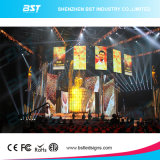 Most Chea Price P3 Fantasy Indoor Rental LED Screen SMD2121 Light Weight and Easy Installation