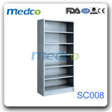 Hospital 6 Layers Stainless Steel Storage Wardrobe, Medical Steel Cupboard Without Doors